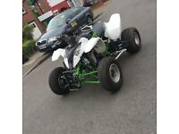 Road legal quad bike Polaris 900cc conversion