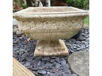Vintage Stone Planter