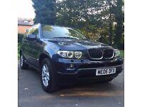 2006 BMW X5 Automatic Diesel, BLUE Sport Estate, Low Road Tax