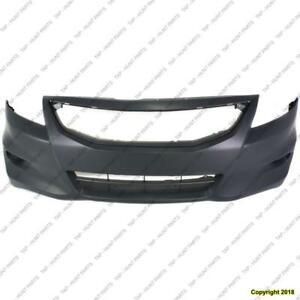 Bumper Front Coupe Primed CAPA Honda Accord 2011-2012