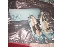 Jacques Vert formal accessories - fascinator/bag/shoes
