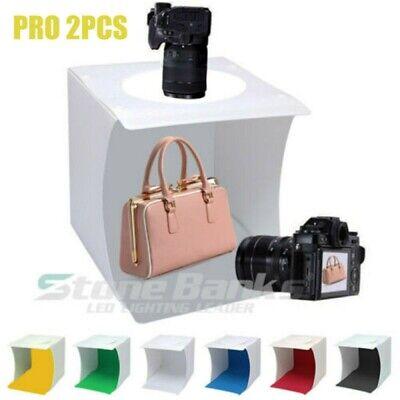 Mini Light Room Photography Lighting Photo Studio  Tent Kit Cube Box Backdrop US Photography Lighting Light Kit
