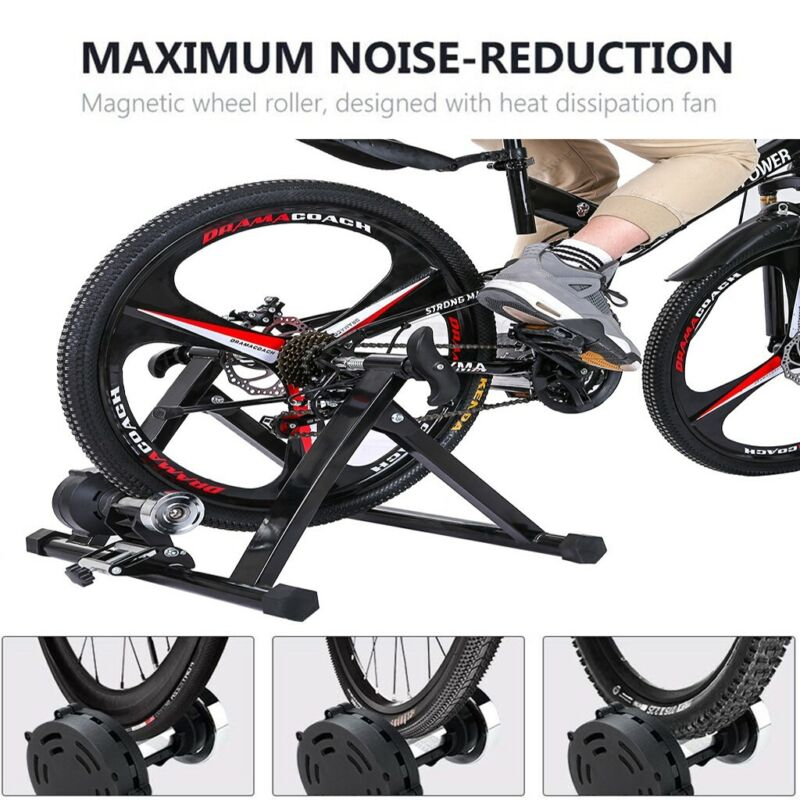 Fluid Bike Trainer - Conquer Smooth Fluid Resistance Indoor