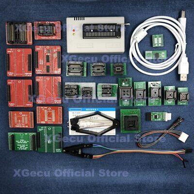 Xgecu Tl866ii Plus Programmer For Spi Flash Nand Mcu 26 Parts With Black Zif