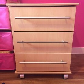 Bedroom chest of drawers x 2