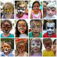Quality face painting for YOUR event!