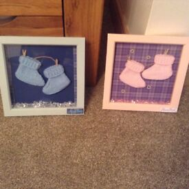 New born baby booties picture