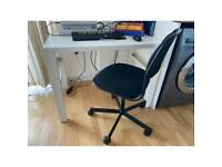 IKEA DESK and CHAIR with wheels