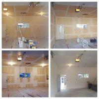 Drywall Installation/Mudding & Taping