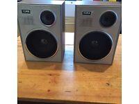 Vintage Yorx Retro Speakers