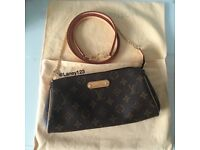 Genuine Louis Vuitton Eva Monogram Clutch Bag - Very Good Condition