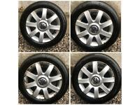 VW Golf MK5 4x Alloy Wheels Set