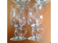 BRAND NEW SET OF 4 CIRCLEWARE NEW YORK LIQUEUR COFFEE/CAFE LATTE/MULLED WINE/HOT TODDY GLASSES