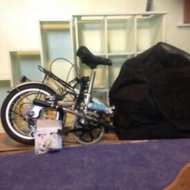 Nearly New folding bicycle