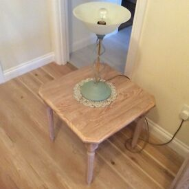 Limed Oak occasional table