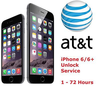 iPhone 6, 6+ AT&T FACTORY UNLOCK CODE SERVICE - 100% GUARANTEE CLEAN IMEI FAST