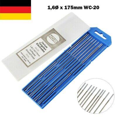 5 x 2 Wolframelektroden Free Rainbow 3,2 x 175 WIG AC DC Schweißen Wolframnadeln
