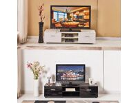 HIGH GLOSS TV STAND BLACK OR WHITE