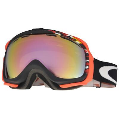 Oakley 59-161 Elevate Houndstooth Black w/ VR50 Pink Unisex Snow Ski Goggles