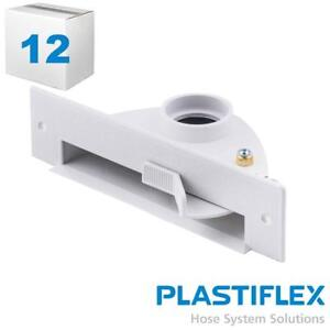 Central Sweep Inlet White Flush Mount Quicktrim May Be Needed Case Of 12