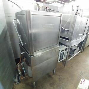 Hobart AM-14 High-Temp Commercial Dishwasher