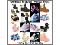 Children's Footwear - various prices