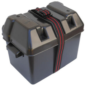 MARINE-PLASTIC-BATTERY-BOX-TRAY-HOLDER-W-STRAP-BOAT-RV-CARAVAN-FIVE-OCEANS