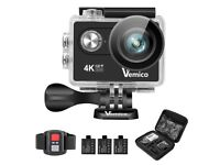 NEW* Vemico 4K Action Camera V2 (Black)