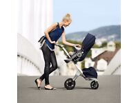 Stokke® Xplory® V5 Pushchair Deep blue Brand new
