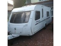 2010 Swift Challenger 570, with remote control motor mover - full rear washroom