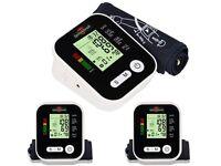 Automatic Digital Arm Blood Pressure Monitor Meter