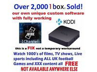 Android kodi TV Box Watch Live Sports over 100,000 movies and Box sets XXX Better than Amazon fire