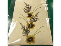 Shop closure sale of Handmade Greeting Cards X 50, Recycled paper greeting cards with envelope,