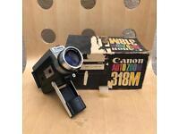 Rare Canon auto zoom 8mm film camera.