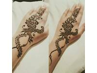 Henna application
