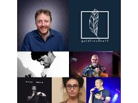 GOLDFINCH COMEDY NIGHT @ GOLDFINCH TOOTING SW17 : CHRIS MCCAUSLAND, DON BISWAS, STEFANO PAOLINI