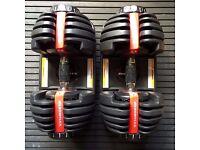 50% discount for Bowflex SelectTech 552 Adjustable Dumbbells (pair) £200