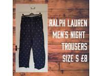 Men's Ralph Lauren night trousers size S