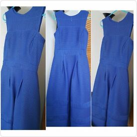 Waterfall Blu Dress