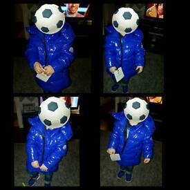 Kids Bright Blue Moncler Jacket
