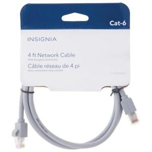 Insignia NS-PNW5604-C 1.2m (4 ft.) Cat6 Network Cable (Open Box)