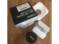 Canon 10-22 EF-S Lens