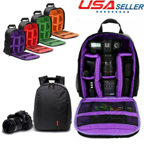 LIXBB Outdoor Product//Fashion Bag Camera Bag Waterproof Camera Bag Shoulder Digital Photography Bag Suitable for Nikon Canon Outdoor Leisure Backpack