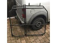 Ford transit connect bulk head cage