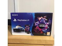 PlayStation vr , with headset , game & camera ! sealed ! Price stands ! may swap nintendo switch