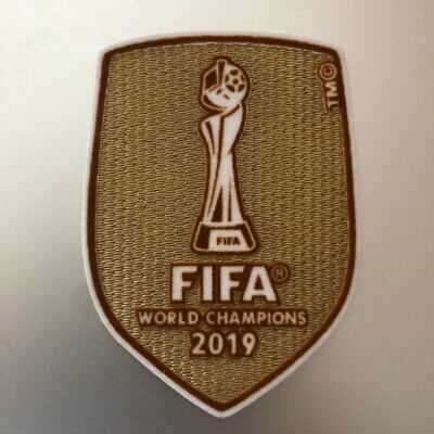 FIFA 2019 Women's World Cup Champion- Soccer Jersey Patch - USA