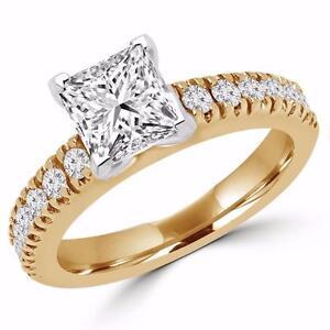 BAGUE DE MARIAGE À DIAMANT 1.15 CT / ENGAGEMENT DIAMOND RING 1.15 CT