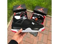 b7f871074cde6a Nike Air Jordan 4 Bred - UK 10   UK 11