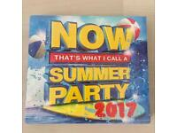 NOW Summer Party 2017 BRAND NEW and SEALED