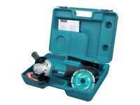 Makita Grinder - Excellent Condition Only Used Once from Brand New